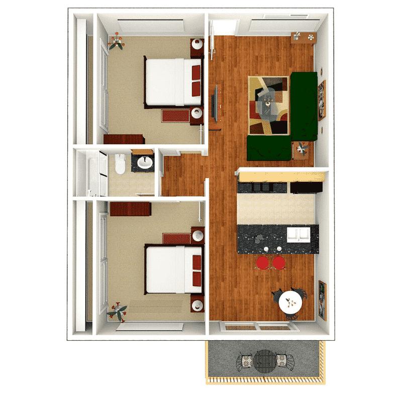 Floor Plans At Sundial Apartment